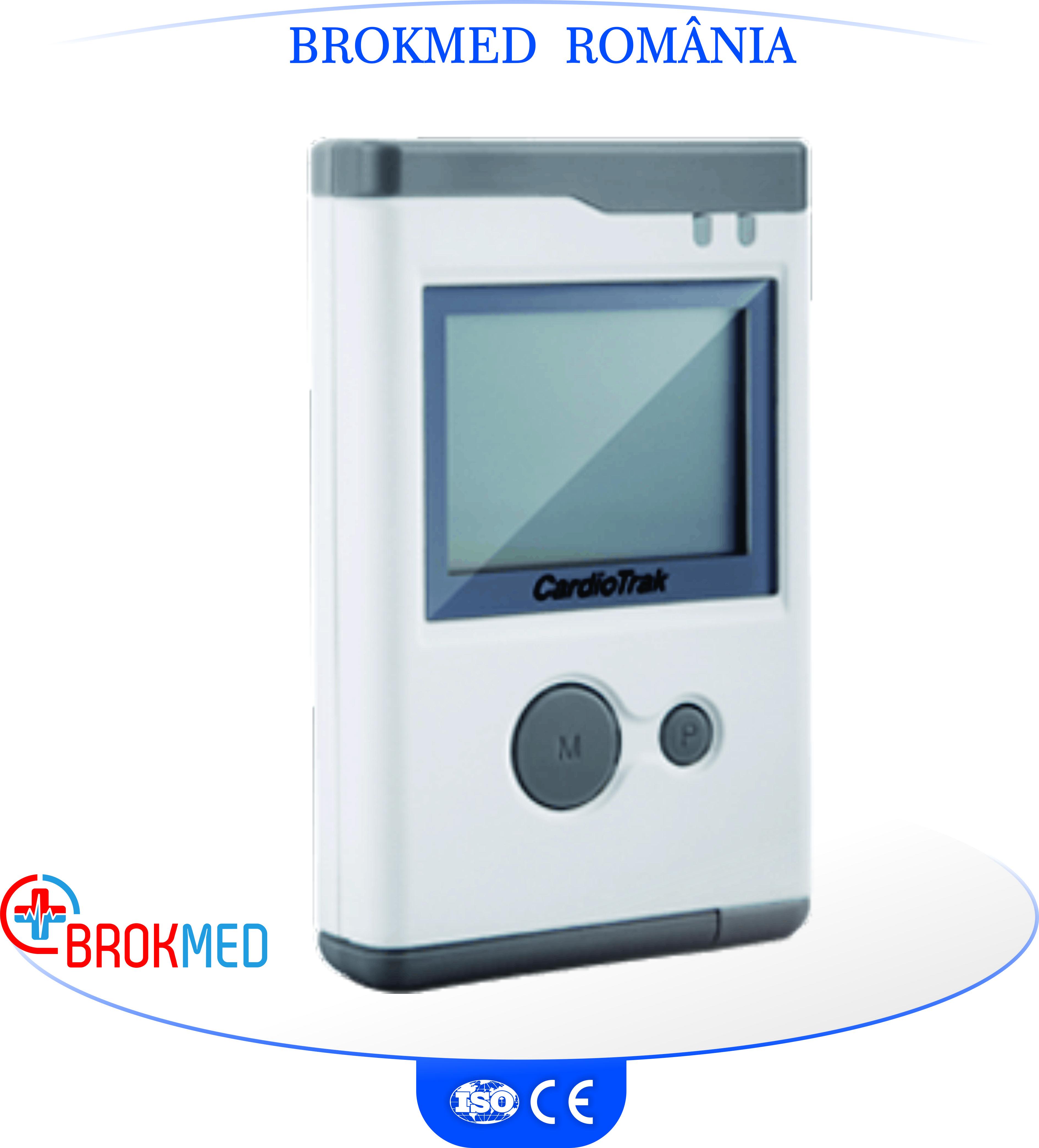 Holter ECG cu 12 canale cu software profesional Cardiotrak