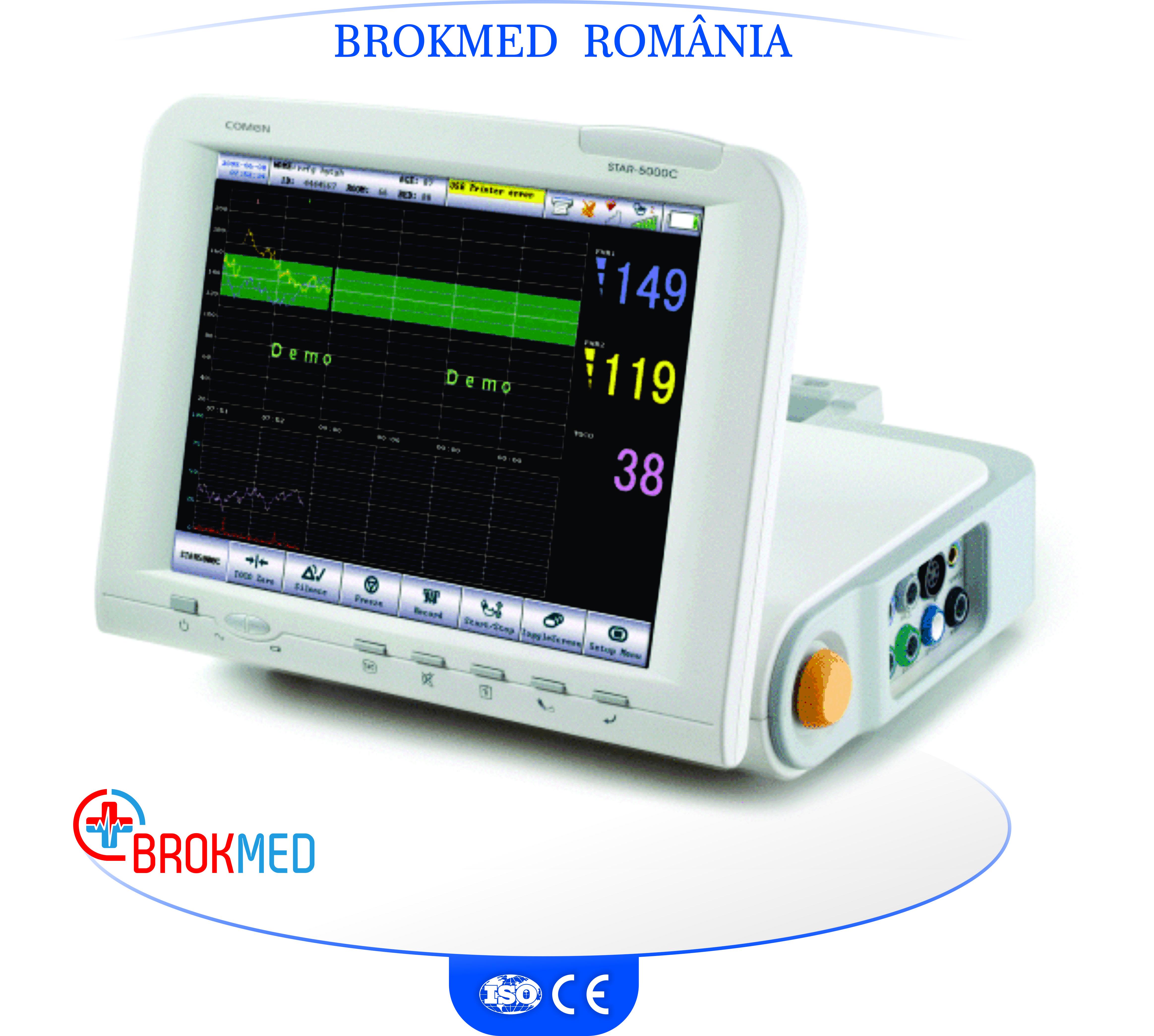 Cardiotocograf cu monitorizare STAR5000C