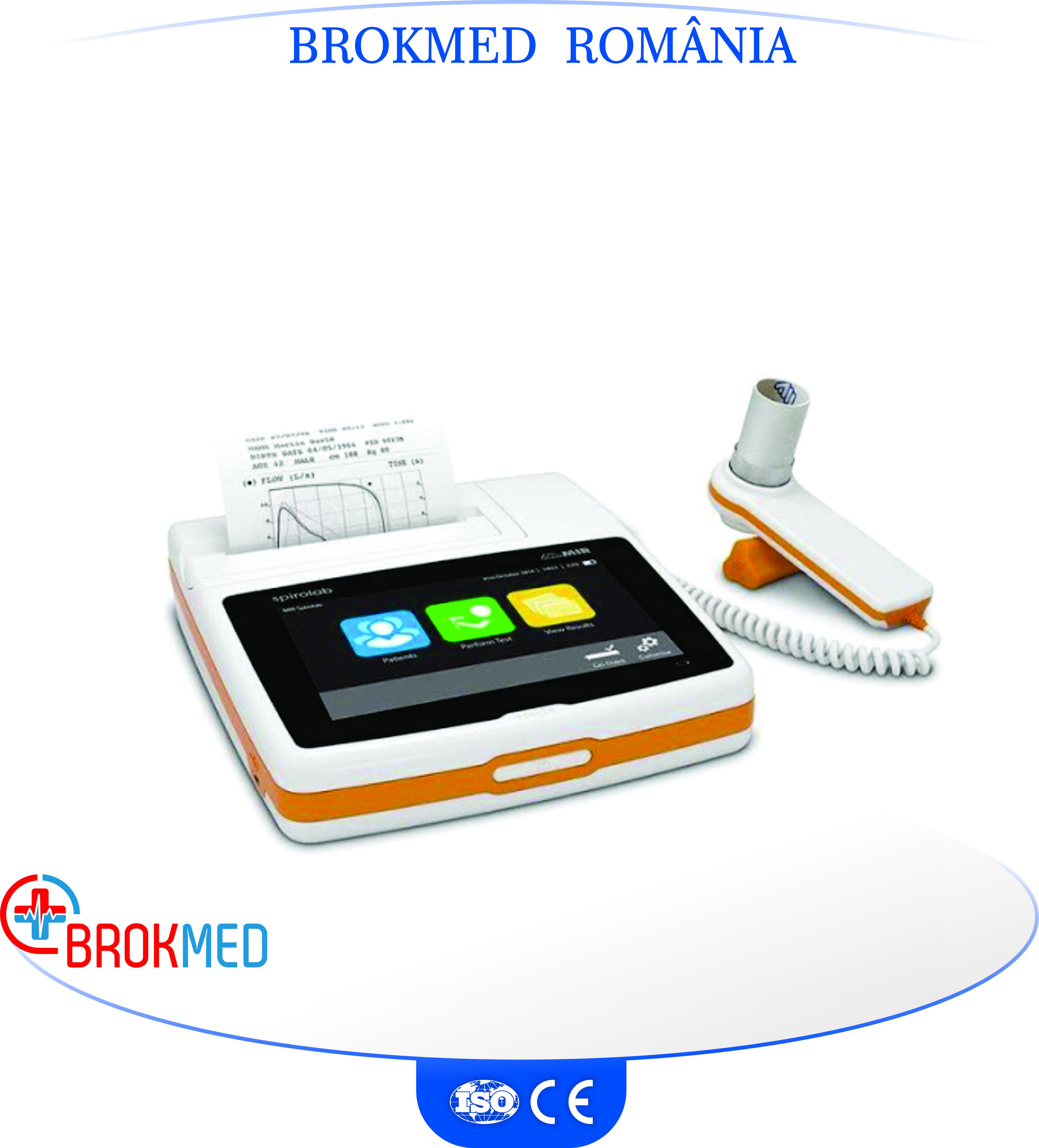 Spirometru cu imprimanta SPIROLAB