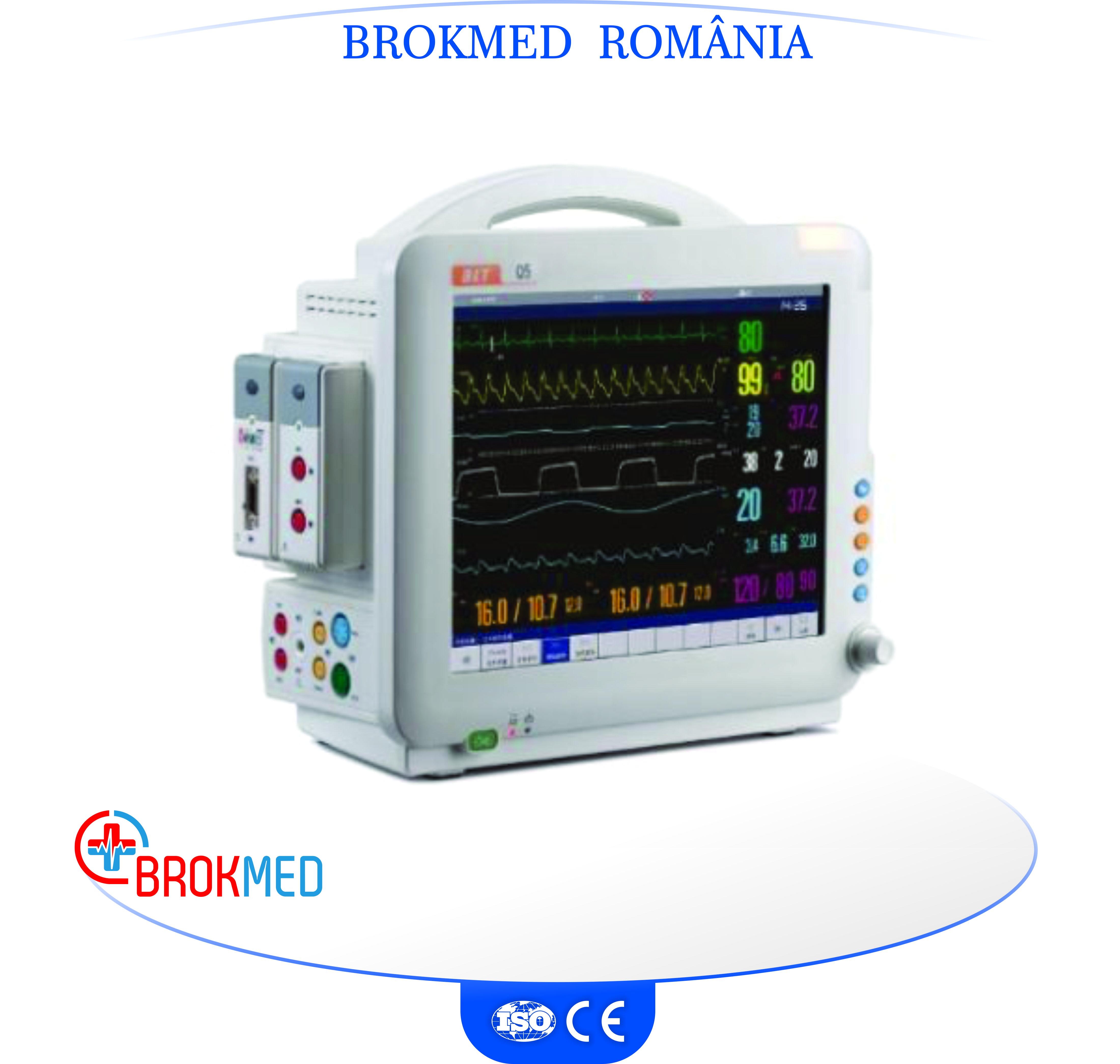 Monitor pacient Q5 cu interfata in limba romana