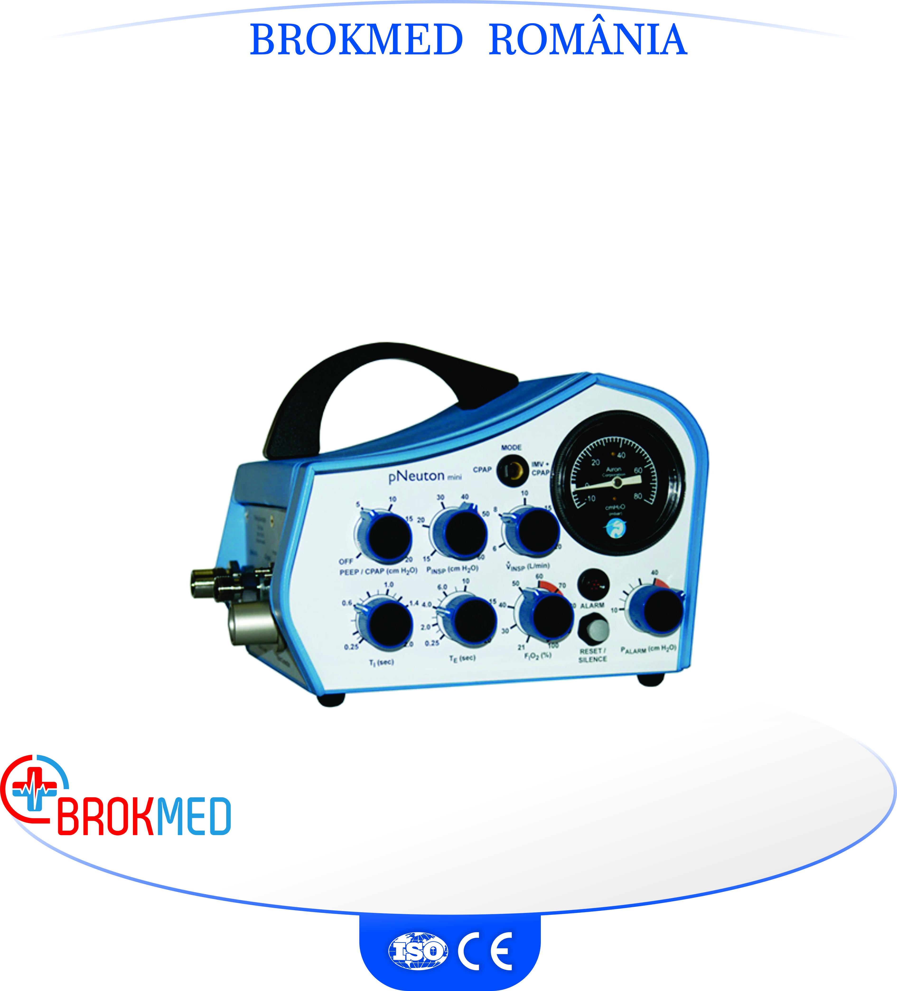Ventilator portabil pNeuton mini compatibil RMN